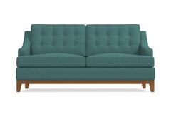 "Bannister Apartment Size Sofa :: Leg Finish: Pecan / Size: Apartment Size - 69""w"
