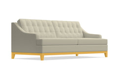 Bannister Queen Size Sleeper Sofa :: Leg Finish: Natural / Sleeper Option: Deluxe Innerspring Mattress