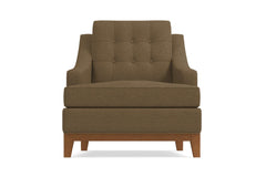 Bannister Chair :: Leg Finish: Pecan
