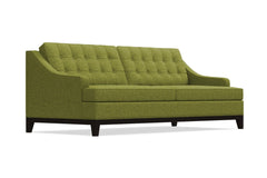Bannister Queen Size Sleeper Sofa :: Leg Finish: Espresso / Sleeper Option: Memory Foam Mattress