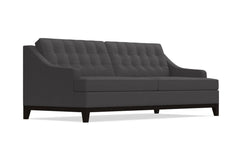 Bannister Queen Size Sleeper Sofa :: Leg Finish: Espresso / Sleeper Option: Deluxe Innerspring Mattress