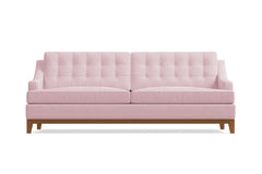 Bannister Sofa :: Leg Finish: Pecan