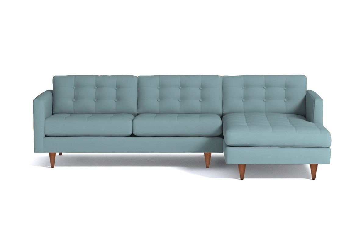 Beverly 2pc Sectional Sofa - USA Made Modern Apartment Sectionals ...