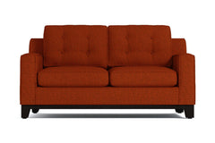 Brentwood Apartment Size Sleeper Sofa :: Leg Finish: Espresso / Sleeper Option: Innerspring Mattress