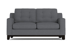 Brentwood Twin Size Sleeper Sofa :: Leg Finish: Espresso / Sleeper Option: Deluxe Innerspring Mattress