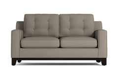 Brentwood Twin Size Sleeper Sofa :: Leg Finish: Espresso / Sleeper Option: Memory Foam Mattress
