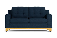 Brentwood Twin Size Sleeper Sofa :: Leg Finish: Natural / Sleeper Option: Memory Foam Mattress
