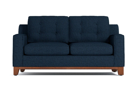 Brentwood Apartment Size Sofa :: Leg Finish: Pecan / Size: Apartment Size - 72