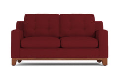 "Brentwood Apartment Size Sofa :: Leg Finish: Pecan / Size: Apartment Size - 72""w"