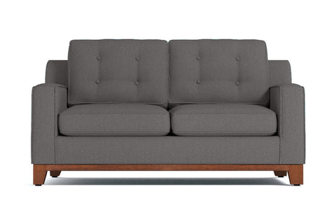 Brentwood Loveseat :: Leg Finish: Pecan / Size: Loveseat Size - 62