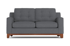 "Brentwood Loveseat :: Leg Finish: Pecan / Size: Loveseat Size - 62""w"