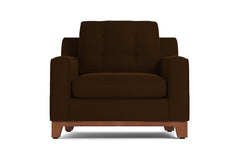 Brentwood Chair :: Leg Finish: Pecan