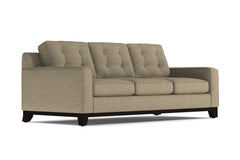 Brentwood Queen Size Sleeper Sofa :: Leg Finish: Espresso / Sleeper Option: Deluxe Innerspring Mattress