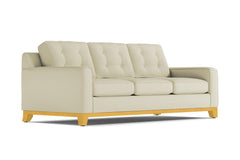 Brentwood Queen Size Sleeper Sofa :: Leg Finish: Natural / Sleeper Option: Memory Foam Mattress