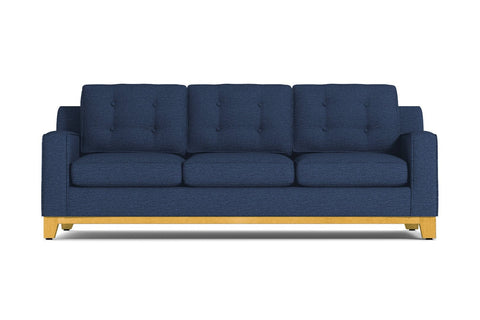 Brentwood Queen Size Sleeper Sofa :: Leg Finish: Natural / Sleeper Option: Deluxe Innerspring Mattress