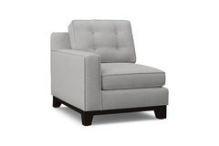 Brentwood Left Arm Chair :: Leg Finish: Espresso / Configuration: LAF - Chaise on the Left