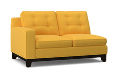 Brentwood Left Arm Loveseat :: Leg Finish: Espresso / Configuration: LAF - Chaise on the Left