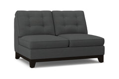 Brentwood Armless Loveseat :: Leg Finish: Espresso