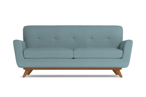 Carson Apartment Size Sofa :: Leg Finish: Pecan / Size: Apartment Size - 72