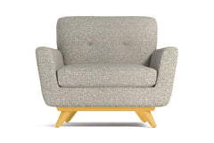 Carson Chair :: Leg Finish: Natural