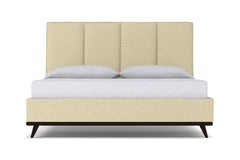 Carter Upholstered Bed :: Leg Finish: Espresso / Size: Full Size