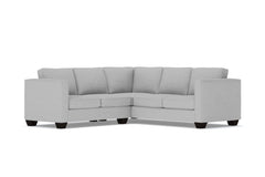 Catalina 2pc Sleeper L-Sectional :: Leg Finish: Espresso / Sleeper Option: Deluxe Innerspring Mattress