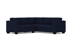 Catalina 2pc L-Sectional Sofa :: Leg Finish: Espresso