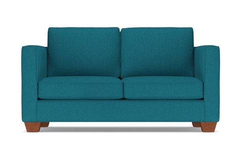 Catalina Apartment Size Sofa :: Leg Finish: Pecan / Size: Apartment Size - 72