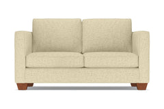Catalina Apartment Size Sleeper Sofa :: Leg Finish: Pecan / Sleeper Option: Deluxe Innerspring Mattress