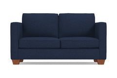 Catalina Twin Size Sleeper Sofa :: Leg Finish: Pecan / Sleeper Option: Deluxe Innerspring Mattress