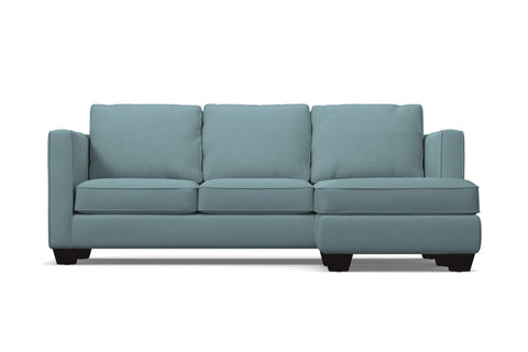 Catalina Reversible Chaise Sleeper Sofa :: Leg Finish: Espresso / Sleeper Option: Memory Foam Mattress