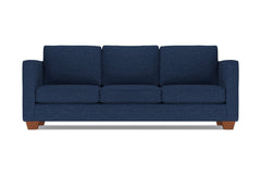 Catalina Queen Size Sleeper Sofa :: Leg Finish: Pecan / Sleeper Option: Deluxe Innerspring Mattress