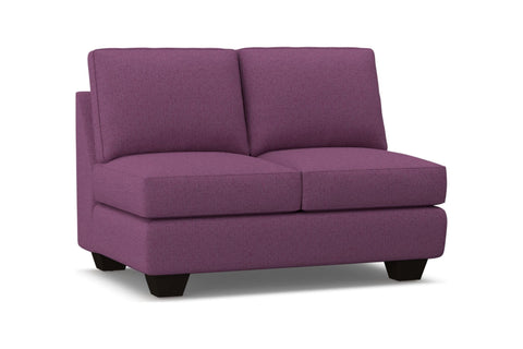Catalina Armless Loveseat :: Leg Finish: Espresso