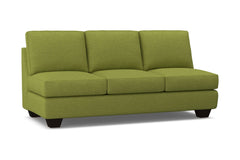 Catalina Armless Sofa :: Leg Finish: Espresso
