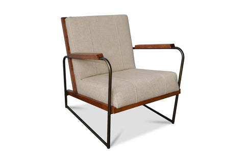 Clive Accent Chair FLAX