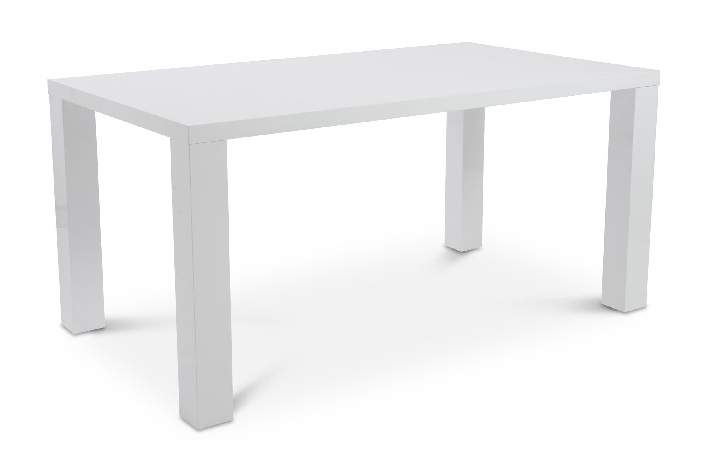 Cloverdale Table WHITE LACQUER - Modern Dining Tables Sold by Apt2B