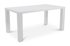 Cloverdale Table WHITE LACQUER