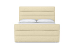 Colette Upholstered Bed :: Size: Queen Size