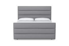 Colette Upholstered Bed :: Size: Eastern King