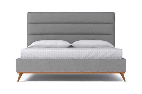 Cooper Upholstered Bed From Kyle Schuneman CHOICE OF FABRICS - Apt2B - 1