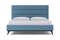 Cooper Upholstered Bed :: Leg Finish: Espresso / Size: Queen Size
