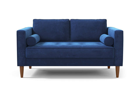 Delilah Apartment Size Sofa :: Leg Finish: Pecan / Size: Apartment Size - 74