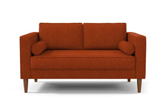 "Delilah Apartment Size Sofa :: Leg Finish: Pecan / Size: Apartment Size - 74""w"