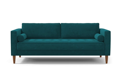 Delilah Sofa :: Leg Finish: Pecan