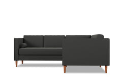 Delilah 2pc L-Sectional Sofa :: Leg Finish: Pecan