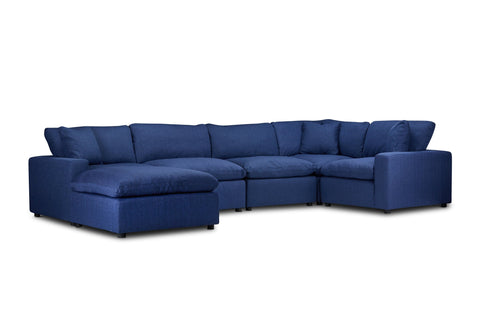 Ashton 6pc Modular Sectional