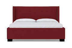 Everett Upholstered Bed :: Leg Finish: Espresso / Size: Eastern King