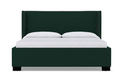 Everett Upholstered Bed :: Leg Finish: Espresso / Size: King