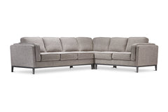 Westley 3pc L-Sectional Sofa :: Configuration: RAF - Loveseat on the Right