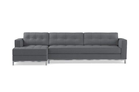 Fillmore 2pc Sleeper Sectional :: Configuration: LAF - Chaise on the Left / Sleeper Option: Memory Foam Mattress